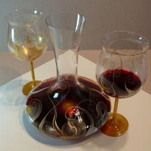 7-Décanteur-or-argent-vin